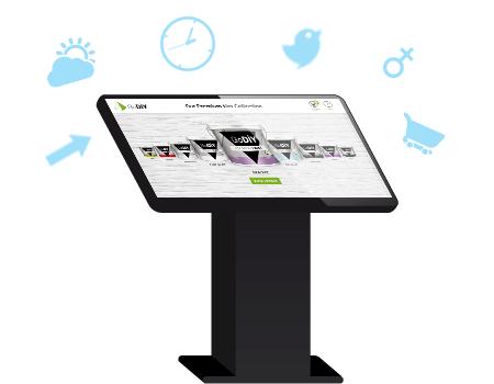 Intuiface présentation création applications tactiles interactives collecte de données