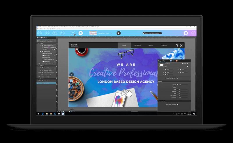 Intuiface présentation logiciel création application tactile