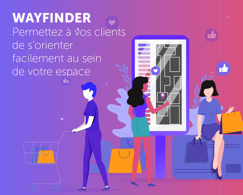 Présentation application Wayfinder