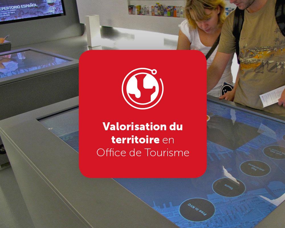 Solution valorisation du territoire en Office de Tourisme
