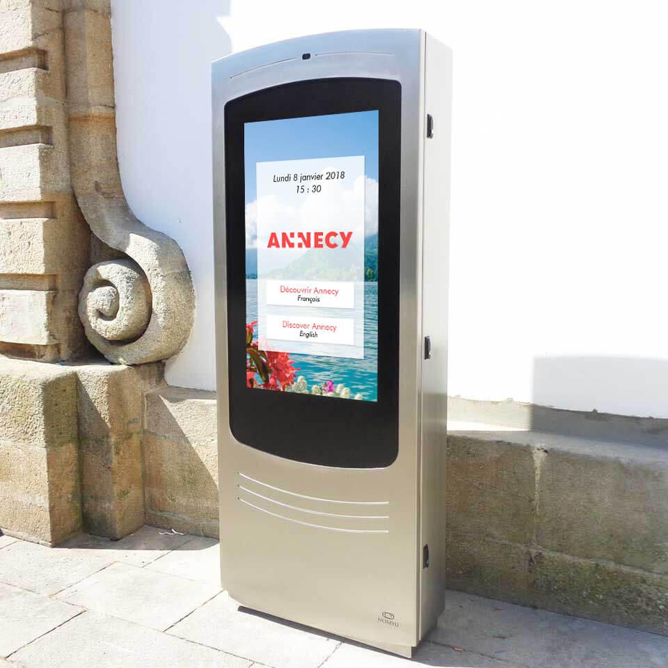L'arrivée des totems numériques en ville