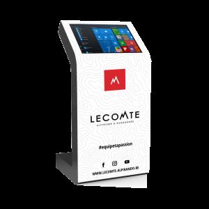 Borne tactile Kiosk stickers aimanté Lecomte