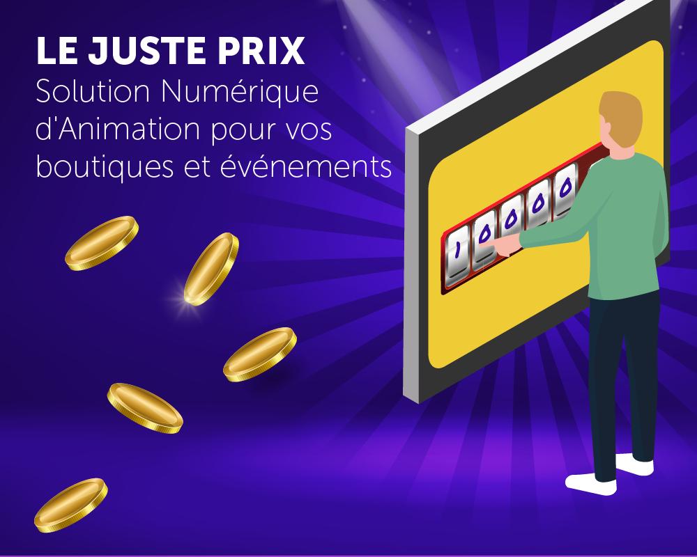 Présentation application Le Juste Prix