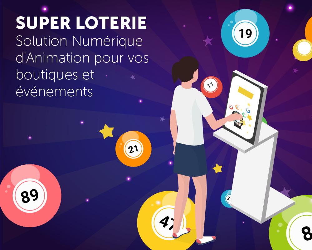 Présentation application tactile super loterie