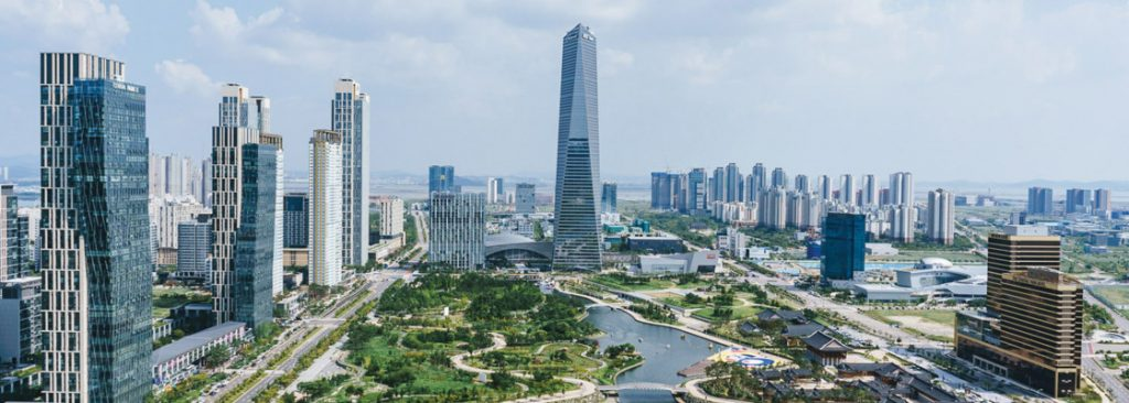 New Songdo, la ville du futur ultra-connectée