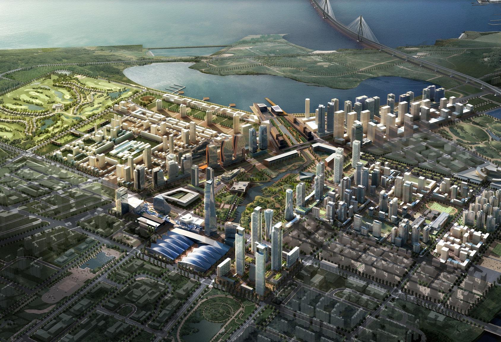 New Songdo, la ville du futur ultra-connectée
