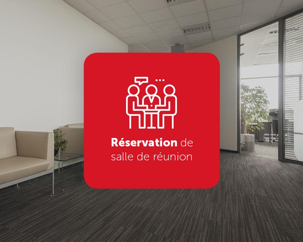 Réservation de salle de réunion