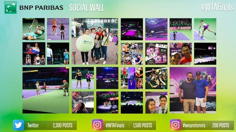 Application Social Wall BNP Paribas