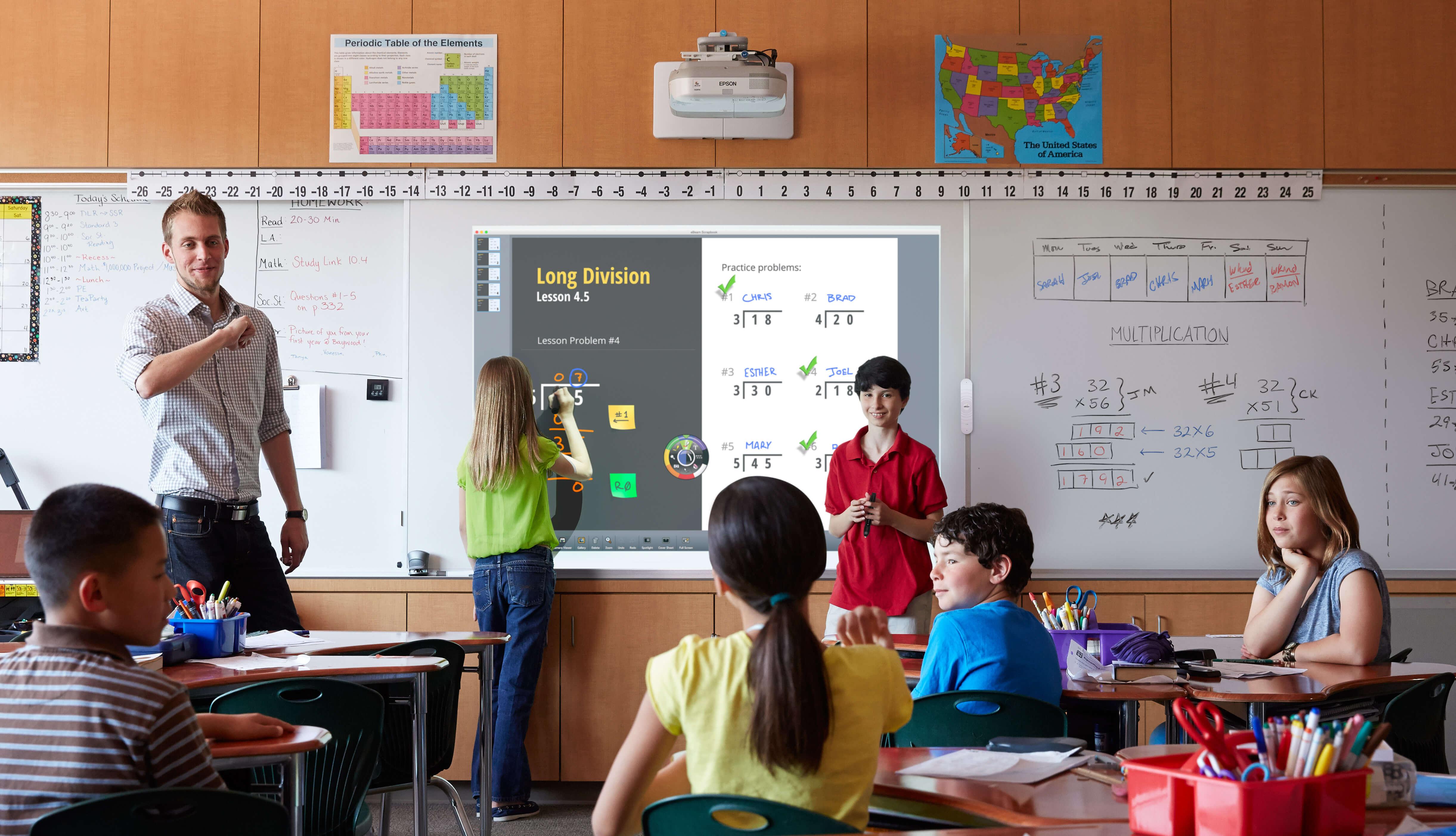 Tableau éducatif bancs d'école