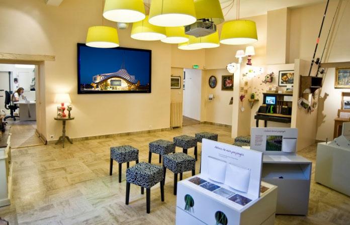Office de Tourisme Affichage Dynamique Indoor