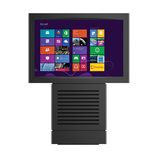 Borne tactile multitouch outdoor 65 pouces