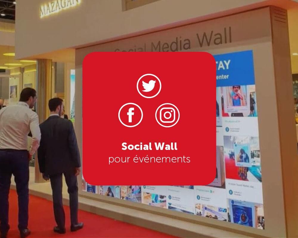 Social Wall murs sociaux créatifs