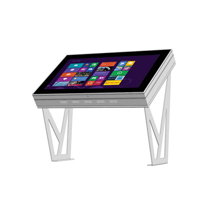 Table tactile multitouch outdoor 55 pouces