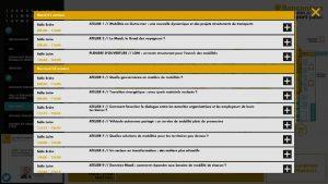 Application tactile Wayfinder plan interactif GIE Transport
