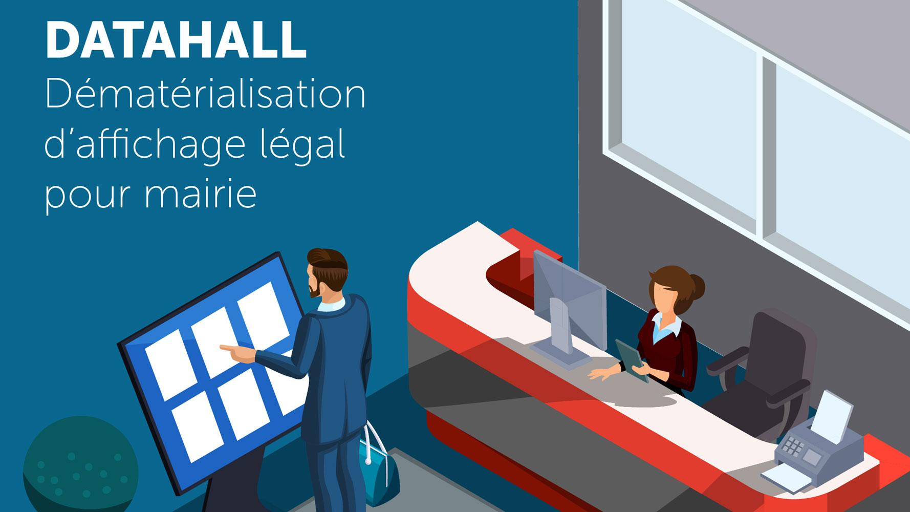 Application Datahall pour mairie
