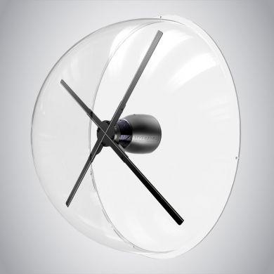 Hélice holographique dome hélice