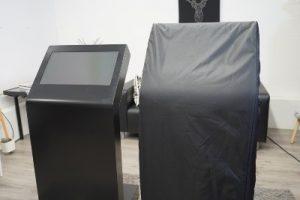 Housse de transport borne tactile 22 pouces KIOSK S