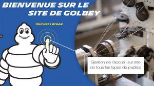 iACCESS gestion visiteur Michelin