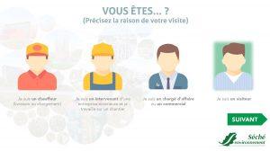 iACCESS gestion visiteur site industriel sécurité