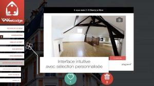 Immosearch application recherche personnalisée logement