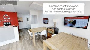 Immosearch application visite virtuelle 360°