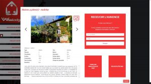 Immosearch envoi logement mail