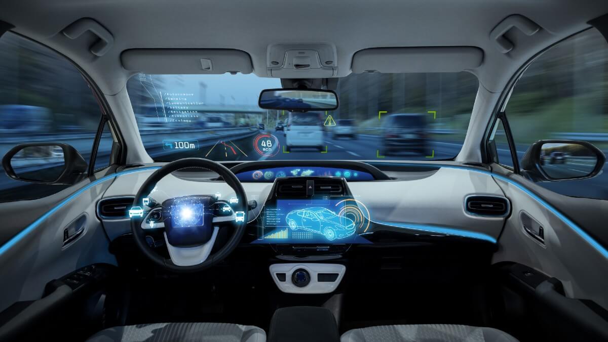 Des écrans géants tactiles jusque dans les automobiles