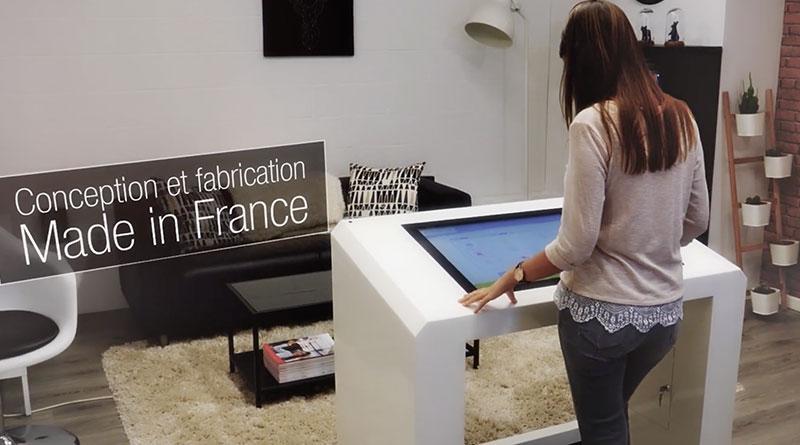 Borne tactile PMR 43 pouces France
