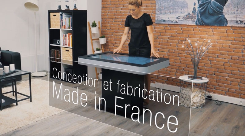 Table tactile Zytab made in France