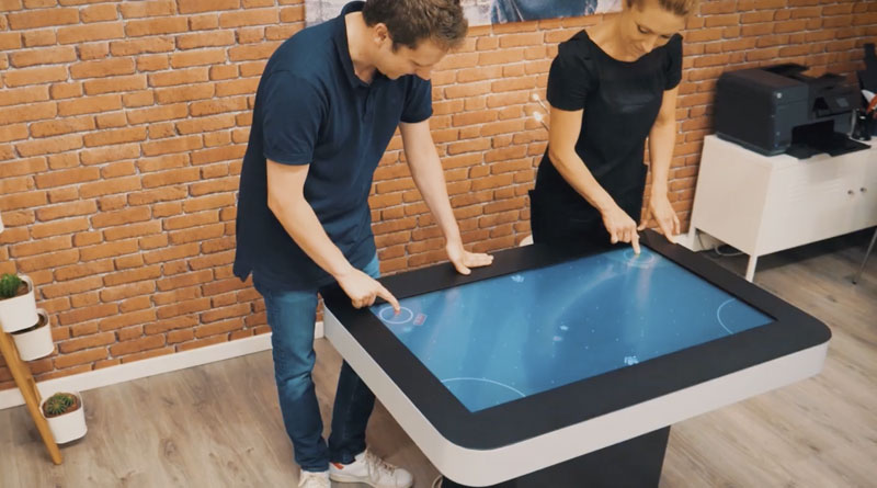 Table tactile ZYTAB multitouch