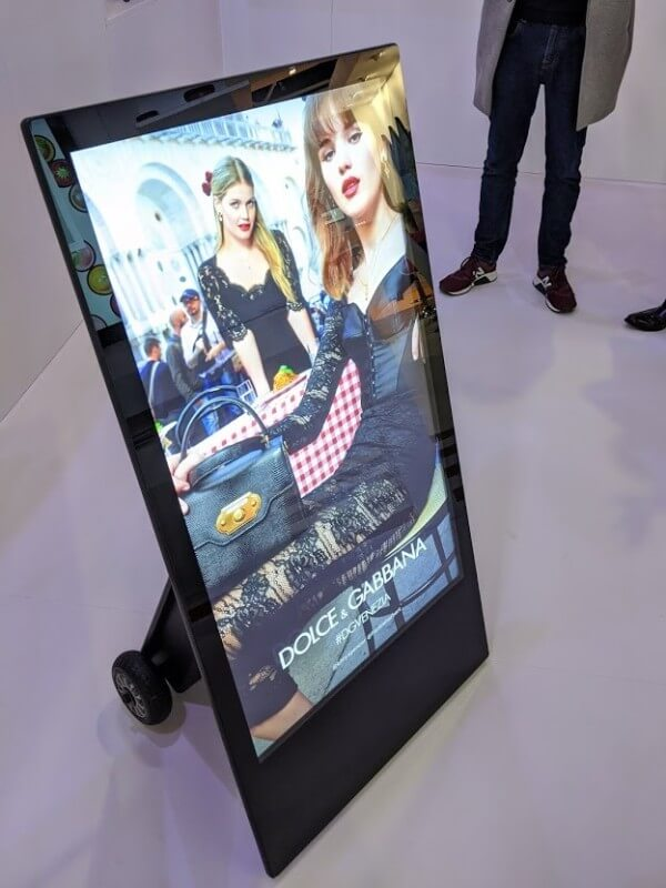 Chevalet digital Dolce & Gabbana