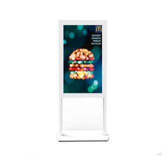 Totem vitrine POSTER 46 pouces haute luminosité HD