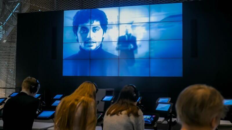 Visite au musée digital Micro Folie