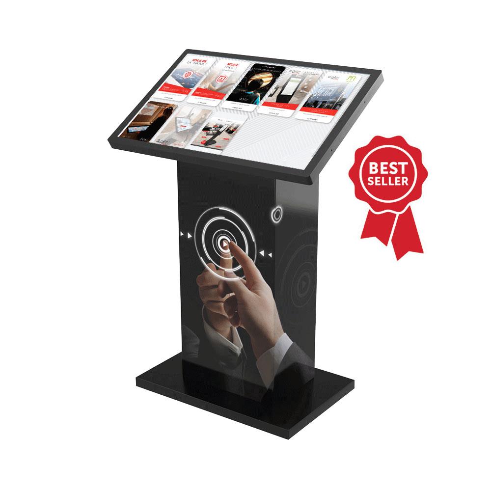 Borne écran tactile 32 pouces Kiosk Best Seller