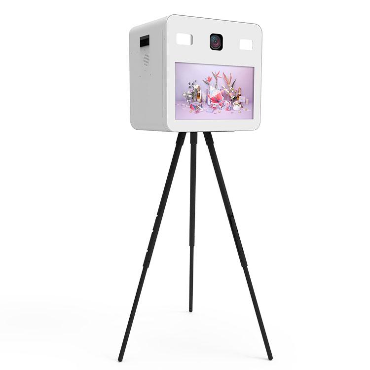 Borne selfie 22 pouces imprimante vidéo