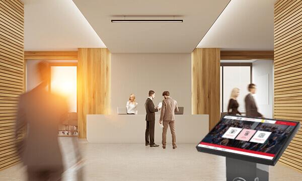 DATAHALL Entreprise, dématérialisation d'affichage réglementaire en Entreprise