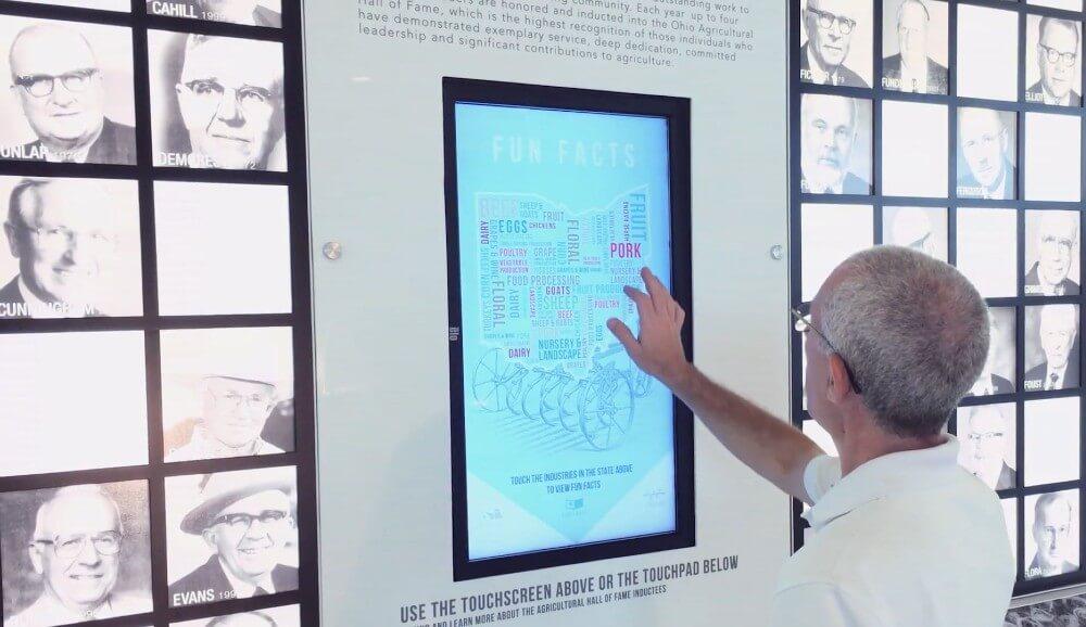 Les dispositifs tactiles pour valoriser les Hall of fame
