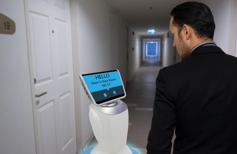 Hôtel intelligent robot