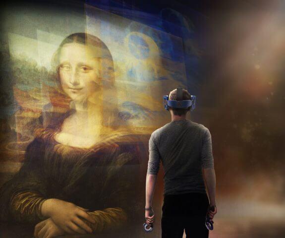 musée du Louvre réalité virtuelle