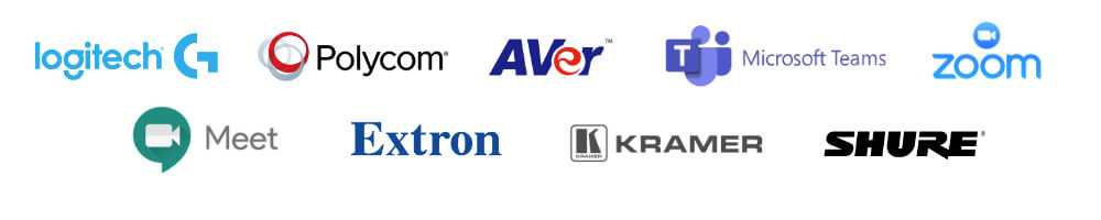 partenaires visioconférence logiciel salle de réunion