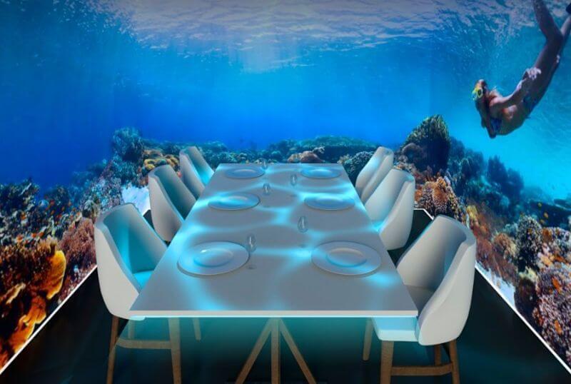 Le restaurant du futur : une expérience immersive des 5 sens