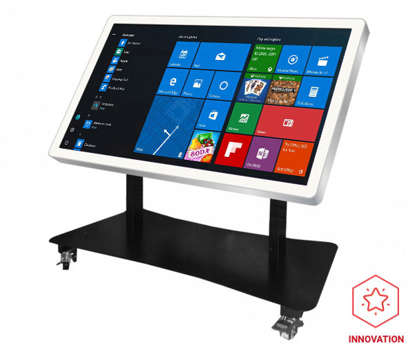 Table interactive multitouch varitilt blanche