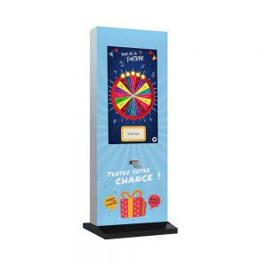 Totem tactile iPlay 32 pouces imprimante