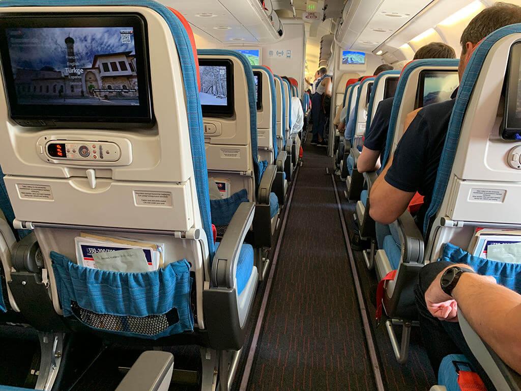 Film antimicrobien de protection pour écrans avions tourisme