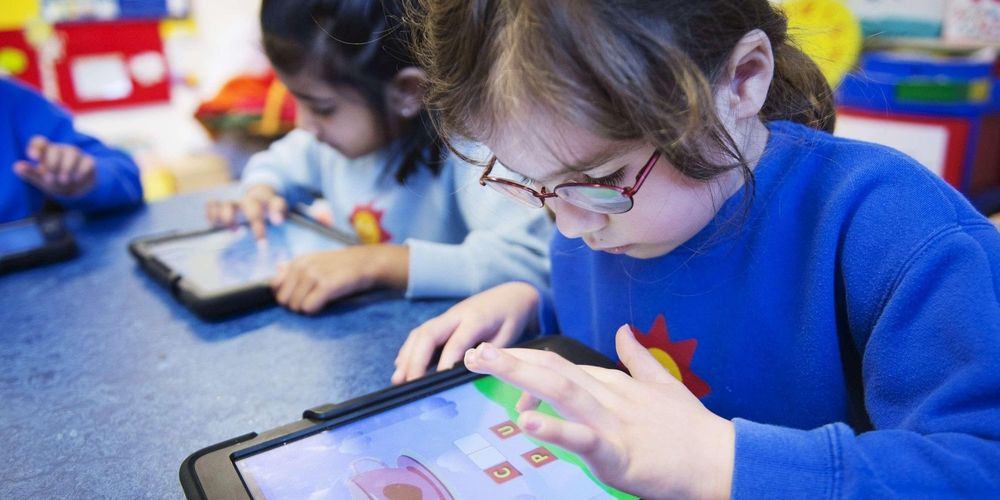 Maternelle tablette tactile digitale