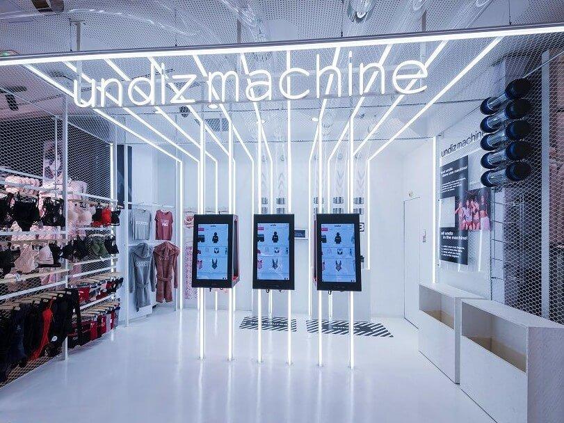 La stratégie phygitale de Undiz pour attirer une clientèle jeune et attirée par le digital