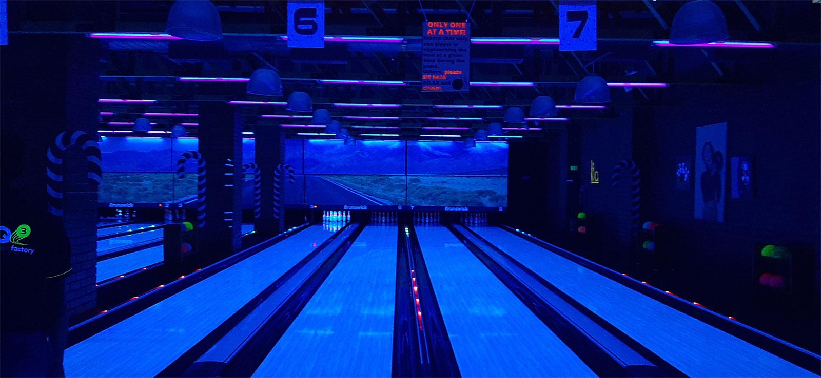 Digitalisation bowling tactile