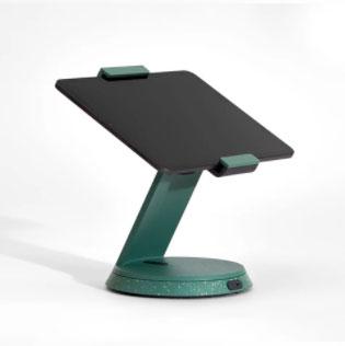support comptoir tablette vert