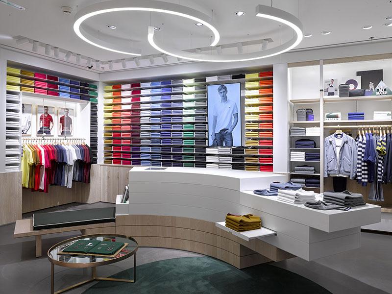 Affichage dynamique retail écran intérieur