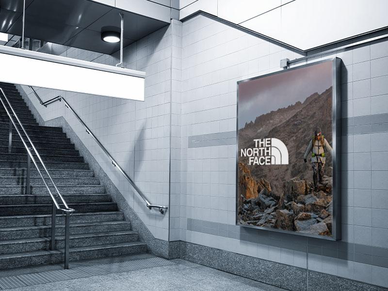Affichage dynamique secteur transport métro